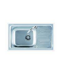 อ่างล้างจาน 1หลุม 1ที่พัก Sink CA 075 แสตนเลส