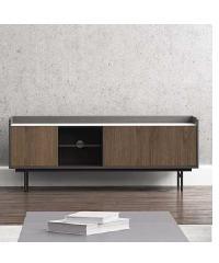 - โต๊ะวางทีวี สีวอลนัท 45x150x58ซม.  CT-181