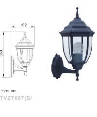 V.E.G โคมไฟผนัง Classic  TVZT607 สีดำ