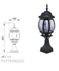 V.E.G โคมไฟหัวเสา TVZT648 (S/L)