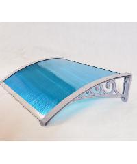 Wellingtan ชุดกันสาดขายึดอลูมิเนียม NAG012-1 สีน้ำเงิน