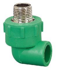 ERA ข้องอเกลียวนอก (25mm)x(3/4นิ้ว) PPR PRE05   สีเขียว
