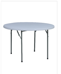 Tree O PLASTIC FOUND TABLE RB-48R-WH