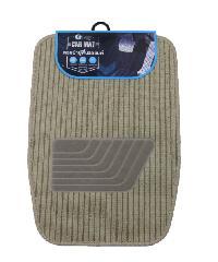 Cover พรมผ้าปูพื้นรถยนต์ ชุด 4 ชิ้น  CM02YLW  สีเบจ