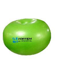 FORTEM ลูกบอลโยคะทรงโดนัท ขนาด 55 ซม.  รุ่น ARK-DNB-15 สีเขียว