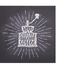 NICE รูปภาพพิมพ์ผ้าใบ Coffee Shop ขนาด  40x40ซม. (ก.xส.) C4040-2