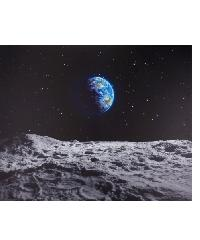 NICE รูปภาพพิมพ์ผ้าใบ 94x76 ซม. (ก.xส.)                                                Moon and Universe C9476-3