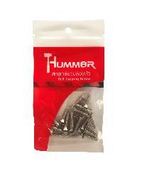 HUMMER สกรูเกลียวปล่อยหัว 7x3/4นิ้ว (25ตัว/แพ๊ค)  F-HM734 สีโครเมี่ยม