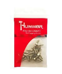 HUMMER สกรูเกลียวปล่อยหัว 8x5/8นิ้ว (25ตัว/แพ็ค)  F-HM858 สีโครเมี่ยม