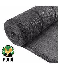 POLLO สแลนท์ HDPE 70% ขนาด 2x100 เมตร (12ก.ก./ม้วน) SH1208-60 สีดำ