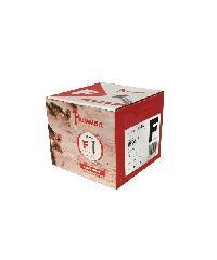 HUMMER สกรูเกลียวปล่อยหัว 8x2นิ้ว (500ตัว/กล่อง) F-HM820  สีโครเมี่ยม