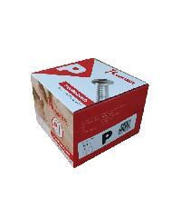 HUMMER สกรูเกลียวปล่อยหัว 8x1นิ้ว (1000ตัว/กล่อง) P P-HM810 สีโครเมี่ยม
