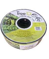 Tree O เทปน้ำหยด  ขนาด 10x1000M 2L/h DP1810 สีดำ