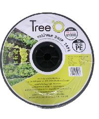 Tree O เทปน้ำหยด  ขนาด 30x1000M 2L/h DP1830 สีดำ