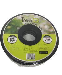 Tree O เทปน้ำพุ่ง ขนาด 50mm ยาว 100M RST5020-100 สีดำ