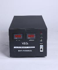 V.E.G เครื่องรักษาระดับแรงดันไฟฟ้า AVR  SVC-D5000VA สีดำ