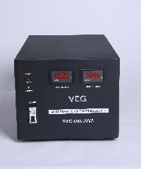 V.E.G เครื่องรักษาระดับแรงดันไฟฟ้า AVR SVC-D8000VA สีดำ