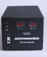 V.E.G เครื่องรักษาระดับแรงดันไฟฟ้า AVR  SVC-D10000VA สีดำ