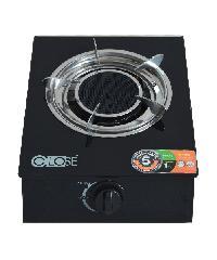 CLOSE เตาแก๊สหัวเดียวแบบอินฟาเรดหน้ากระจก  BW-1037A สีดำ