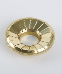 CLOSE ฝาเฟืองทองเหลืองสำหรับเตาแก๊ส รุ่น G051-BR (Ø70mm)  G051-BR (Ø70mm) BRASS สีทอง