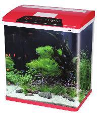 BOYU ตู้ปลา HG-300 สีแดง