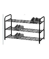 COZY ชั้นวางรองเท้า NYDIA 3 ชั้น สีดำ -