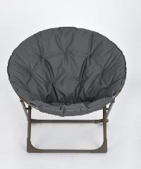 Pulito เก้าอี้พักผ่อนทรงกลม EARTHY GREY สีเทา