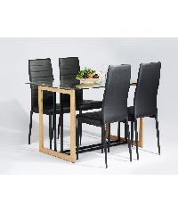 Pulito ชุดโต๊ะอาหาร 4 ที่นั่ง  MADRE ANN