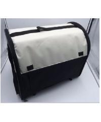 DUDUPETS กระเป๋าใส่สัตร์เลี้ยงแบบพกพา ไซส์ M ขนาด 35x45x40ซม.  PTC002S  สีดำ