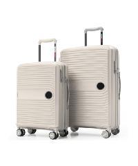 WETZLARS  ชุดกระเป๋าเดินทาง PP 3 ใบ ขนาด 20 24 28    P-7007WH-1 สีขาว