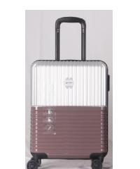 WETZLARS ชุดกระเป๋าเดินทาง PC 3 ใบ ขนาด 20 24 28  สีเงิน  A-9623S-1