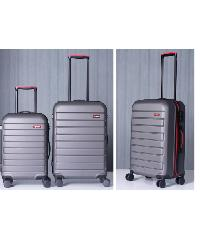 WETZLARS  กระเป๋าเดินทาง ABS ขนาด 20   สีเทาเข้ม A-9361GR-1