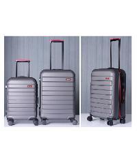 WETZLARS  กระเป๋าเดินทาง ABS ขนาด 24   สีเทาเข้ม A-9361GR-2