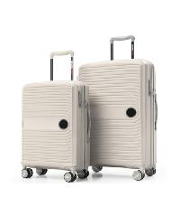 WETZLARS กระเป๋าเดินทาง PP ขนาด 20   P-7007WH-1   สีขาว