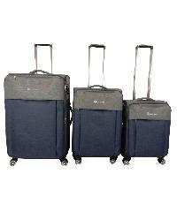 WETZLARS  ชุดกระเป๋าเดินทางผ้า 3 ใบ ขนาด 20 24 28   B-346BL  สีน้ำเงิน