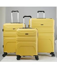 WETZLARS  ชุดกระเป๋าเดินทาง ABS 3ใบ  ขนาด 20 24 28  CTH0011 สีเหลือง