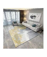 COZY  พรมปูพื้นสไตล์นอร์ดิก  ขนาด 140×200×0.6 ซม.  SD05 สีเทา