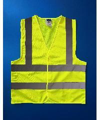 Protx เสื้อจราจรสะท้อนแสง ขนาด XXL Z0010-H1XXL สีเหลือง