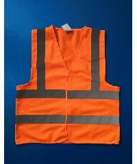 Protx เสื้อจราจรสะท้อนแสง  Z0007-J1M ขนาด M  สีส้ม