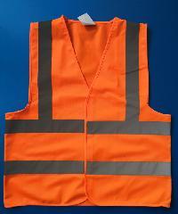 Protx เสื้อจราจรสะท้อนแสง   Z0007-J1L ขนาด L  สีส้ม สีส้ม