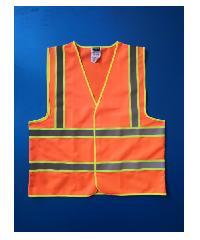 Protx เสื้อจราจรสะท้อนแสง   Z0024-J1L ขนาด L  สีส้ม สีส้ม