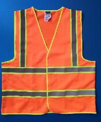 Protx เสื้อจราจรสะท้อนแสง   Z0024-J1XXL ขนาด XXL   สีส้ม สีส้ม