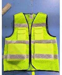 Protx เสื้อจราจรสะท้อนแสง   W0042-HBXXL ขนาด XXL  สีเหลือง  สีเหลือง
