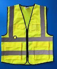 Protx เสื้อจราจรสะท้อนแสง  Z0008-H1L ขนาด L  สีเหลือง  สีเหลือง