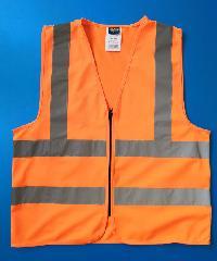 Protx เสื้อจราจรสะท้อนแสง   Z0007-J2L ขนาด L สีส้ม  สีส้ม