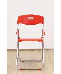 Pulito เก้าอี้พับ  GGW006-RD สีแดง