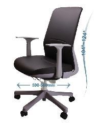 LUXUS เก้าอี้สำนักงาน KLS002-GY สีดำ