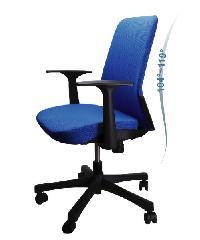 LUXUS เก้าอี้สำนักงาน   KLS004-BK สีน้ำเงิน