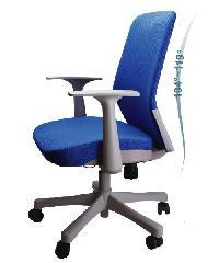 LUXUS เก้าอี้สำนักงาน  KLS004-GY สีน้ำเงิน