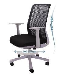 LUXUS เก้าอี้สำนักงาน   KLS006-GY สีดำ